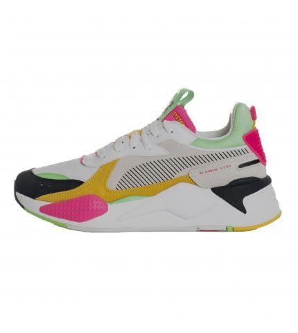 RS-X Reinvent Puma Black/Puma White/Glowing Pink