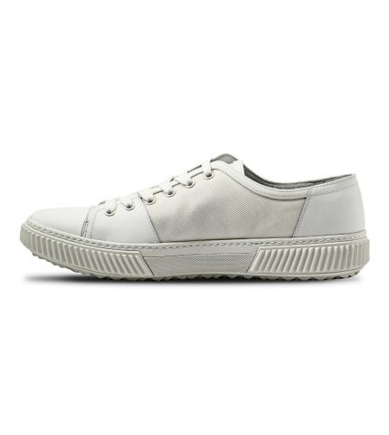 Bianco Leather Sneakers