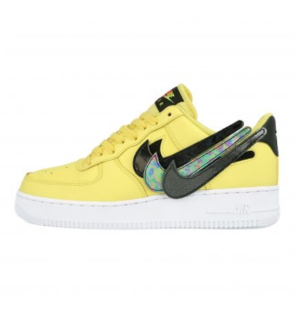 Air Force Yellow Pulse/Black/White/White