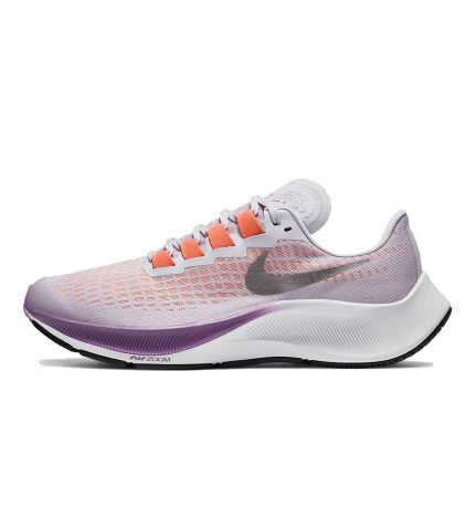 AIR ZOOM PEGASUS 37 GS Violet Frost/Mtlc Pewter-Camellia-Dk Smo