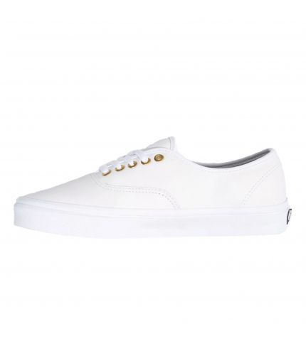 UA Authentic (Leather) True White/True White